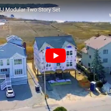 Seaside, NJ Modular Two Story Set